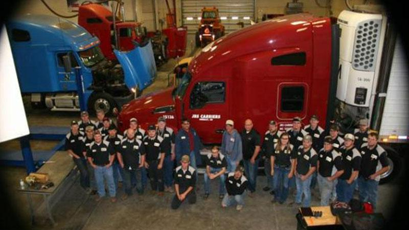 Diesel Technology class with JBS Carriers representatives