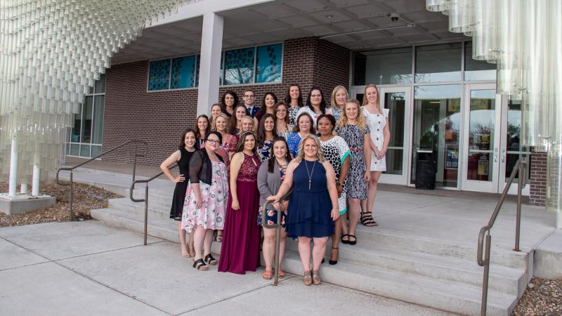 Twenty-Two Northeastern students earn Associates of Nursing Degrees