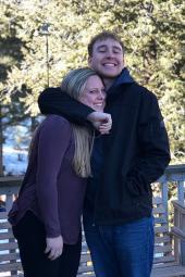 Northeastern Junior College Denver-based Admissions Coordinator, Justin Denette enjoying the great outdoors.