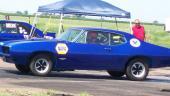 1968 Pontiac GTO drag race car