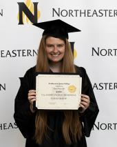 Northeastern Debbie Paison Scholarship winner 2019