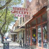 Simkins Cafe in Sterling, Colorado