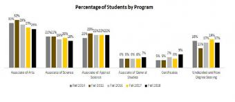 Percentage of Students by Program