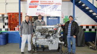 Left to Right: Arlan Scholl, Garrett Sporhase and Jimmy Atencio.